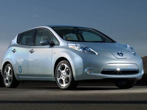 2011 Nissan Leaf Pricing Ratings Reviews Kelley Blue Book