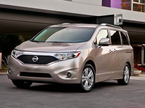 2011 Nissan Quest S Minivan 4D  photo