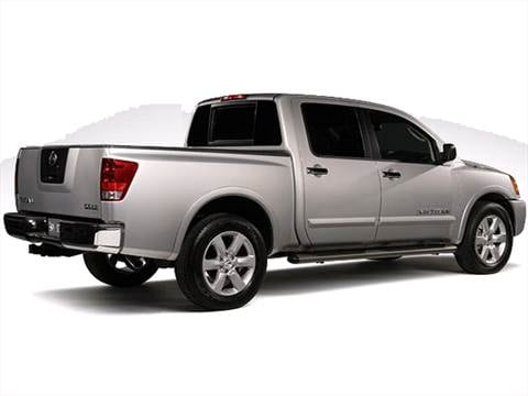 2011 Nissan Titan Crew Cab S Pickup 4D 5 1/2 ft  photo