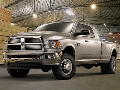 2011 Ram 2500 Mega Cab SLT Pickup 4D 6 1/3 ft  photo