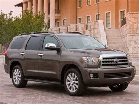 2011 Toyota Sequoia SR5 Sport Utility 4D  photo