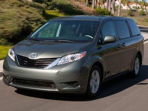 2011 toyota sienna pricing ratings reviews kelley blue book. Black Bedroom Furniture Sets. Home Design Ideas