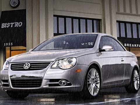 2011 Volkswagen Eos Komfort Hard Top Convertible 2D  photo