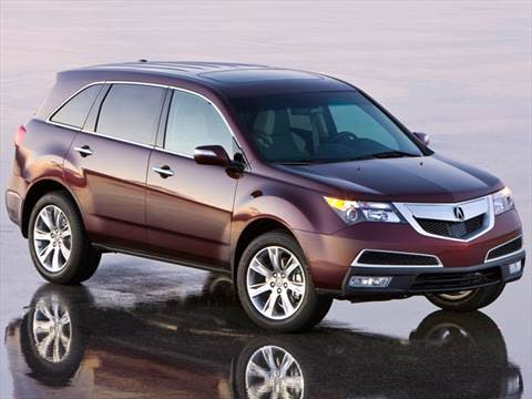 2012 Acura MDX | Pricing, Ratings & Reviews | Kelley Blue Book