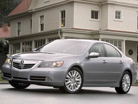 Acura RL Pricing Ratings Reviews Kelley Blue Book - 2006 acura rl a spec
