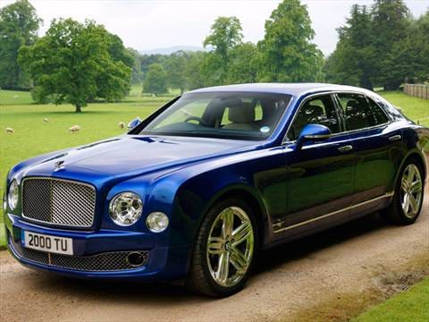 2012 bentley mulsanne Exterior