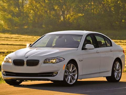 2012 BMW 5 Series 528i Sedan 4D  photo
