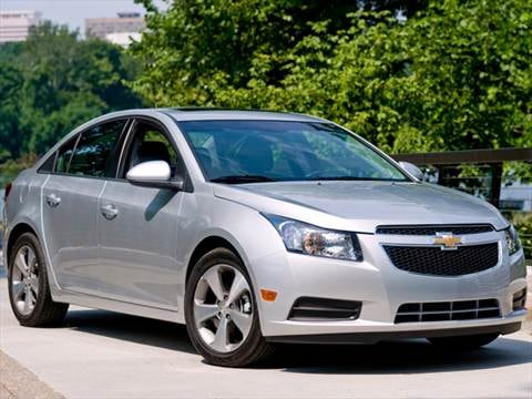 2012 chevrolet cruze pricing ratings reviews kelley blue book. Black Bedroom Furniture Sets. Home Design Ideas