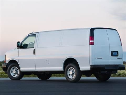 2012 Chevrolet Express 1500 Cargo Van 3D  photo