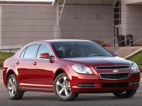 2012 Chevrolet Malibu LS Sedan 4D  photo