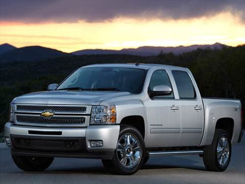2012 Chevrolet Silverado 1500 Crew Cab LS Pickup 4D 5 3/4 ft  photo
