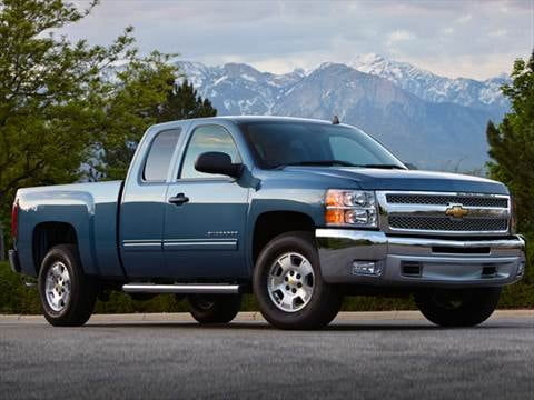 2012 Chevrolet Silverado 1500 Extended Cab Work Truck Pickup 4D 6 1/2 ft  photo