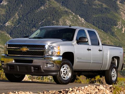 2012 Chevrolet Silverado 2500 HD Crew Cab Work Truck Pickup 4D 6 1/2 ft  photo