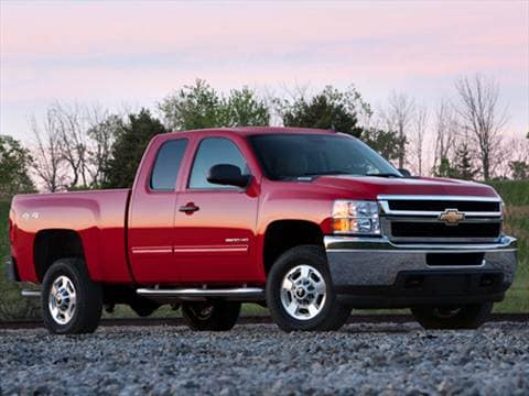 2012 Chevrolet Silverado 2500 HD Extended Cab Work Truck Pickup 4D 6 1/2 ft  photo
