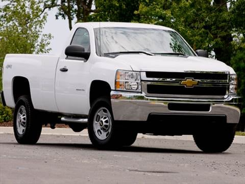 2012 Chevrolet Silverado 2500 HD Regular Cab Work Truck Pickup 2D 8 ft  photo
