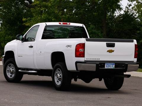 2012 chevrolet silverado 3500 hd regular cab Exterior