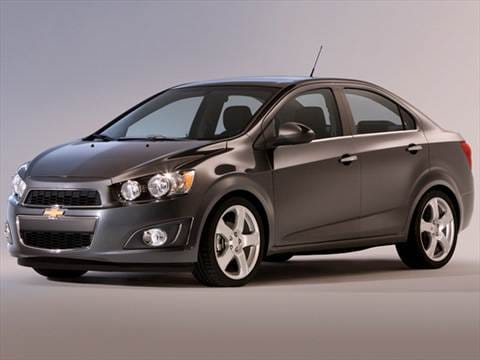 2012 Chevrolet Sonic LS Sedan 4D  photo
