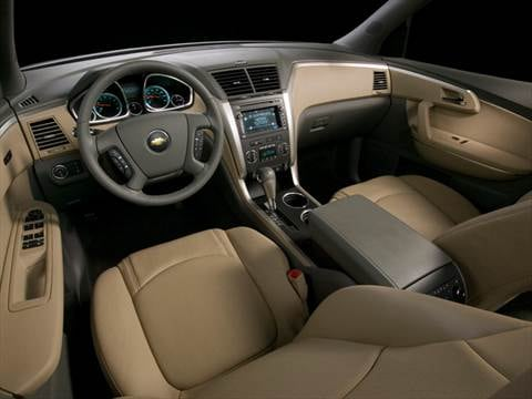 2012 chevrolet traverse Interior
