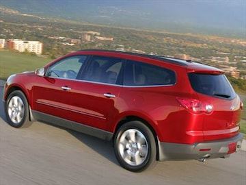 2012 chevrolet traverse pricing ratings reviews kelley blue book. Black Bedroom Furniture Sets. Home Design Ideas