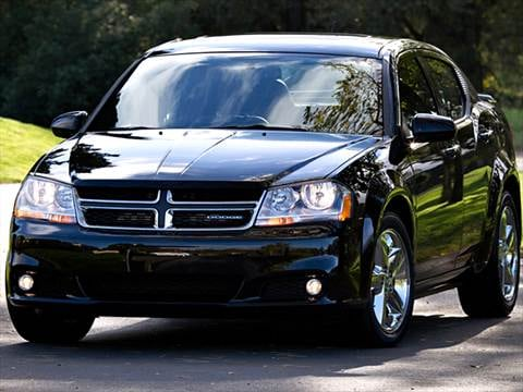 2012 Dodge Avenger Pricing Ratings Reviews Kelley Blue Book