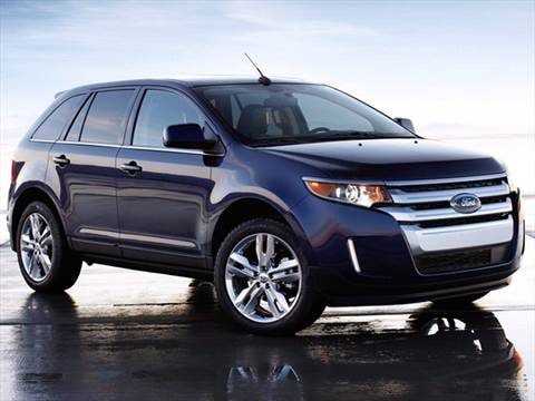 2012 ford edge frontside ftedge121 - 2012 Ford Edge Sel