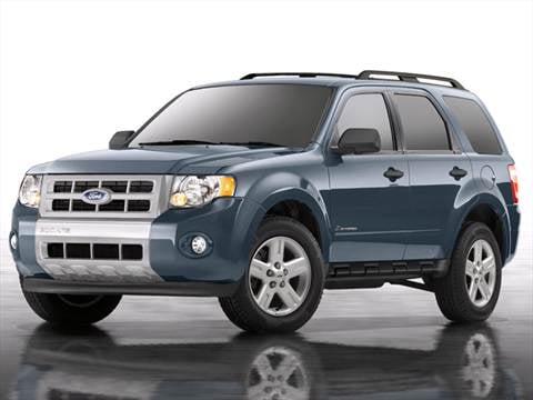 2012 Ford Escape Limited Hybrid Sport Utility 4D  photo