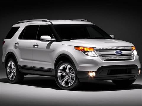 2012 ford explorer pricing ratings reviews kelley blue book. Black Bedroom Furniture Sets. Home Design Ideas