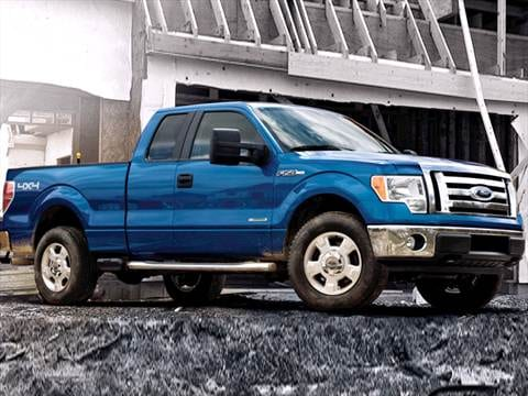 2012 ford f150 super cab Exterior