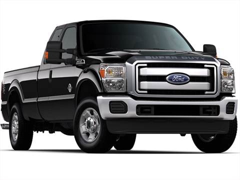 2012 Ford F250 Super Duty Super Cab XL Pickup 4D 6 3/4 ft  photo