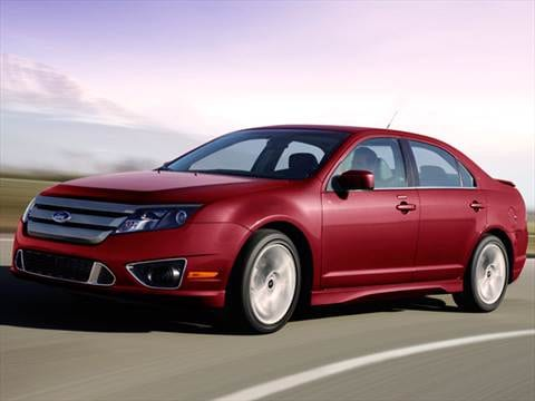 2012 ford fusion Exterior