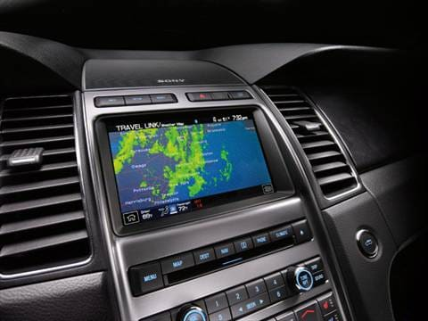 2012 ford taurus Interior