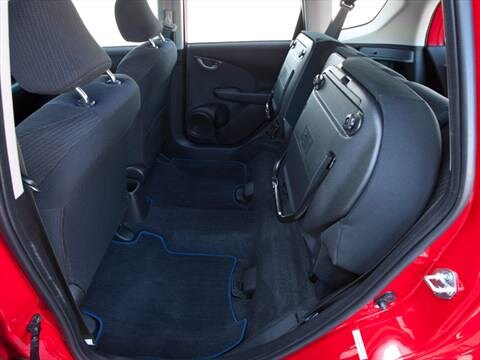 2012 honda fit Interior