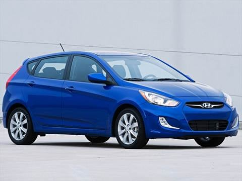 2012 Hyundai Accent GS Hatchback 4D  photo