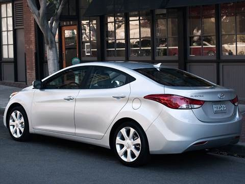 2012 Hyundai Elantra Gls Sedan 4d Pictures And Videos