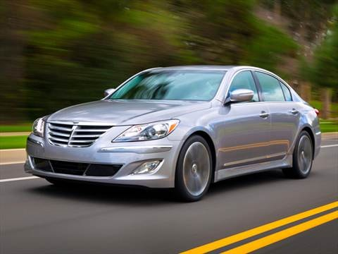2012 Hyundai Genesis 3.8 Sedan 4D  photo