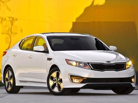 2012 Kia Optima Hybrid Sedan 4D  photo