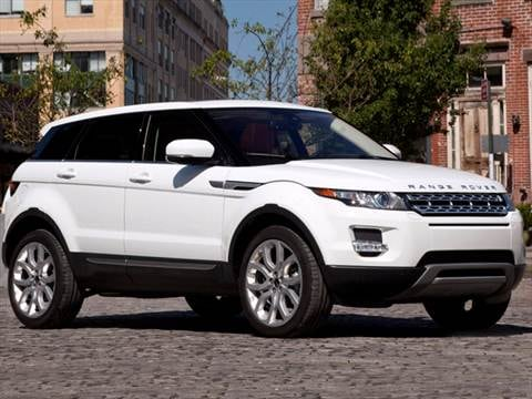 2012 Land Rover Range Rover Evoque Pricing Ratings Reviews