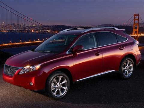 2012 Lexus RX RX 350 Sport Utility 4D  photo