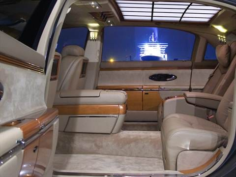 2012 maybach 62 Interior