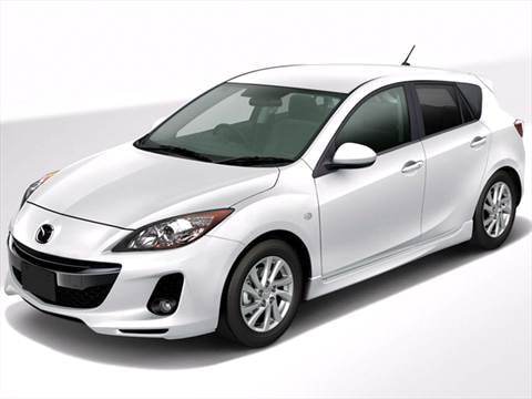 2012 Mazda MAZDA3 i Touring Hatchback 4D  photo