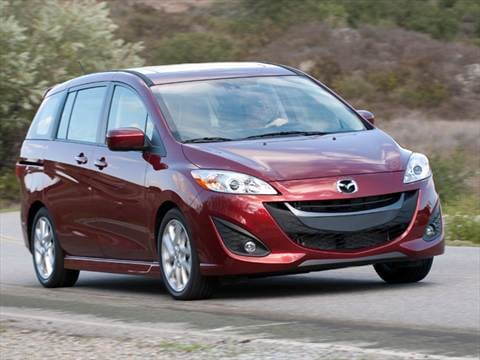 2012 Mazda MAZDA5 Grand Touring Minivan 4D  photo