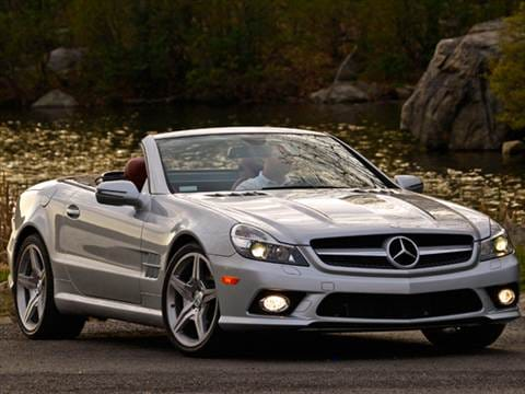 2012 Mercedes-Benz SL-Class SL550 Roadster 2D  photo