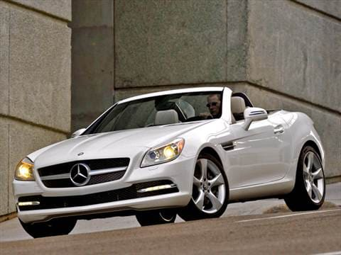 2012 Mercedes-Benz SLK-Class SLK55 AMG Roadster 2D  photo