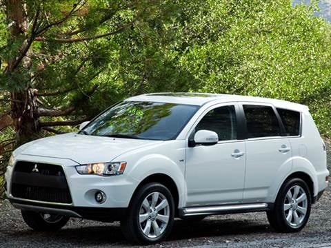 2012 Mitsubishi Outlander Pricing Ratings Reviews Kelley Blue