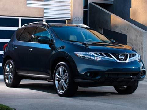 2012 Nissan Murano Pricing Ratings Reviews Kelley Blue Book