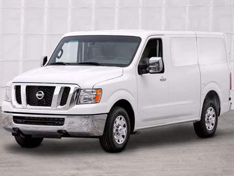 2012 Nissan NV1500 Cargo SV Van 3D  photo