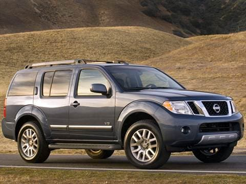 2012 Nissan Pathfinder S Sport Utility 4D  photo