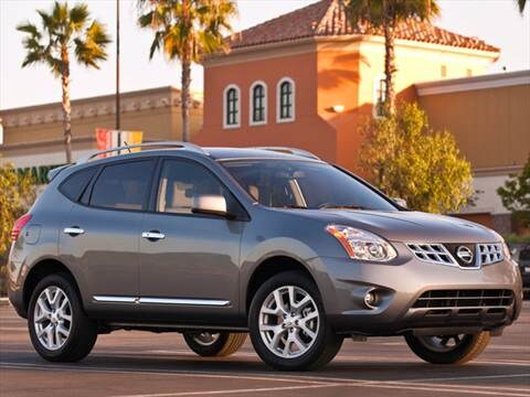 2012 Nissan Rogue S Sport Utility 4D  photo