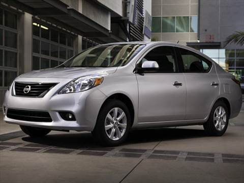 Attractive 2012 Nissan Versa