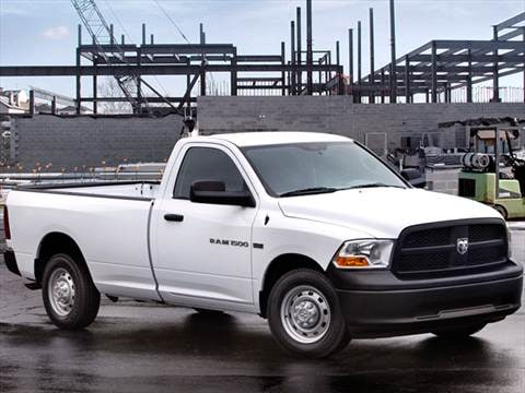 2012 Ram 1500 Regular Cab ST Pickup 2D 6 1/3 ft  photo